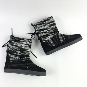 Toms Black Suede Nepal Boot H6414863